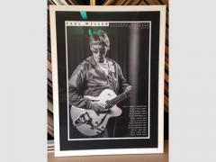 Lithograph Poster Paul Weller 2015 UK Tour Poster