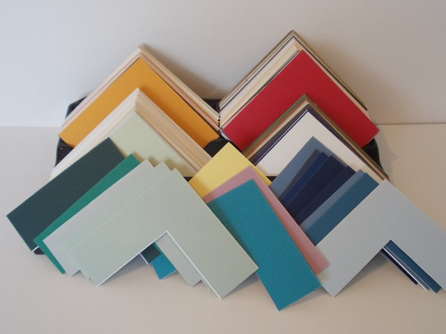 Variety of Mount Boards Colours