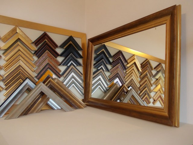 Mirrors and Mirror Frames.