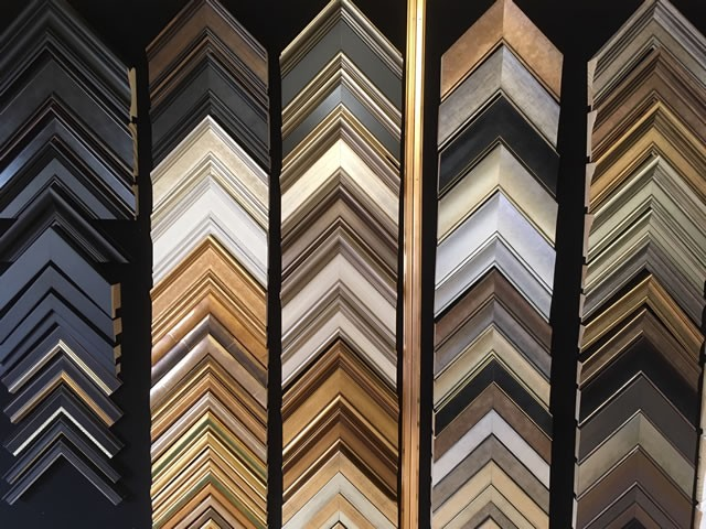 A wide range of picture frames to choose from